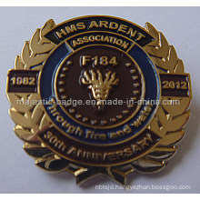 Lapel Pin Gold Plating & Soft Enamel (MJ-PIN-130)