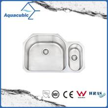 Undermount Stainless Steel Moduled Under Counter Sinks (ACS7952AM)