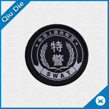 Etiqueta de tela / textil personalizada para uniformes o prendas de vestir
