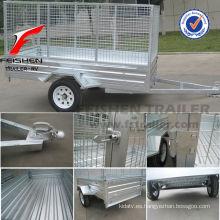 Inclinación de jaula remolque profesional caja de trailer fabricante
