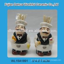 Keramik Chef Promotion Zahnstocher verzichten auf Küche