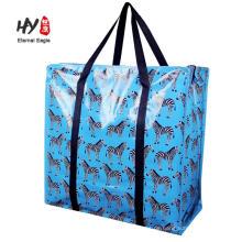 Christmas gift pp woven larg tote bag