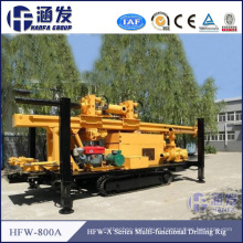 Advanced Technology! ! Hfw - a Series Hydraulic Top Driving Deep Well Drilling Machine for Sale in Complex Stratume