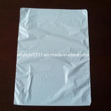 HDPE biologisch abbaubarer weißer Plastikbeutel