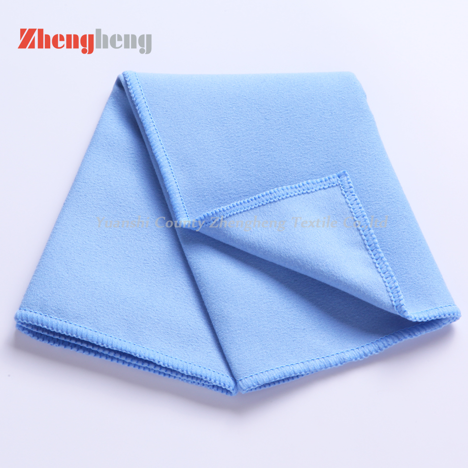 Different Color and Grade of Microfiber Suede Towels