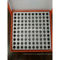 Kryovial-Röhrchen mit 100 Vertiefungen für 0,5-ml-Zentrifugenröhrchen