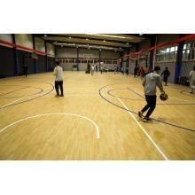 Plancher sportif de tapis de cour de basket-ball de PVC d'intérieur