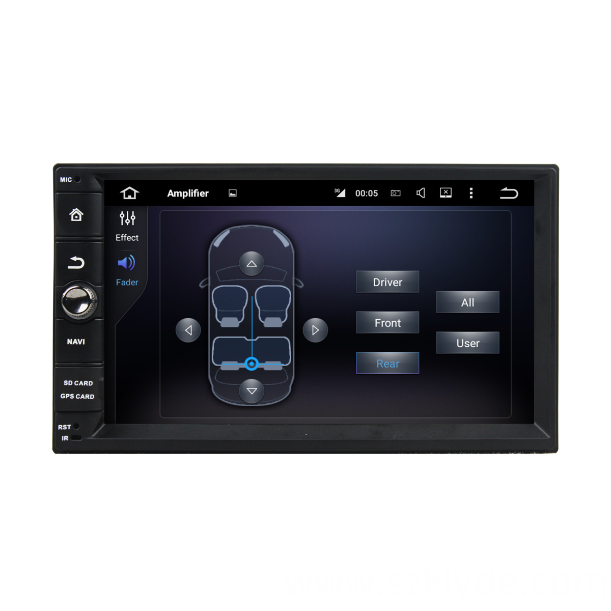 Touch screen HD Universal dvd player