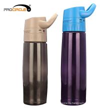 600 мл Открытый Спорт mp3-музыка пластиковые бутылки воды