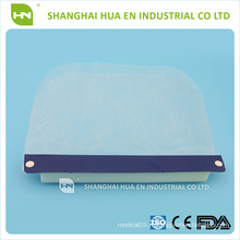 Медицинский одноразовый прозрачный пластиковый защитный экран для лица