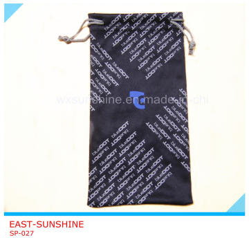 Microfiber Sunglasses Cleaning Pouch (SP-027)