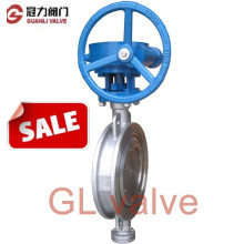 API Wafer Type Stainless Steel Butterfly Valve