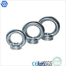 Edelstahl Eye Nut Stahl geschmiedet verzinkt DIN582 Lifting Eye Nut