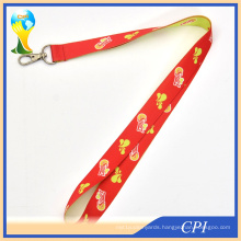 2 mm Sublimation Lanyard with Metal Clip