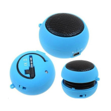 Portable Mini Audio Speaker with Hamburger