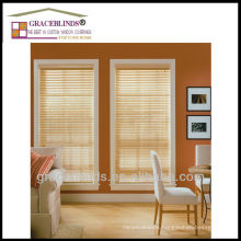 ladder tape with cord tilt Best Window Blinds Option 100% natural wood slats window blinds