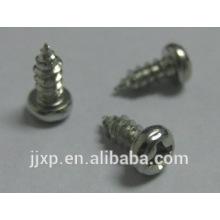 Parafuso de aço carbono c1022 Parafuso de máquina galvanizada Parafusos de máquina pequenos