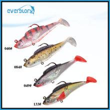 Leurre de poisson plomb 8cm/10cm en leurre de pêche multicolore