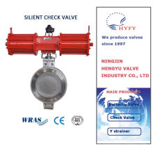 2015 hot product with modern sanitary manual weld butterfly valve