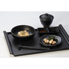 100% Melamine Dinnerware-Wooden Surface Tray (QQBK19001)