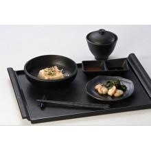 100% меламин посуда-деревянная поверхность лотка (QQBK19001)