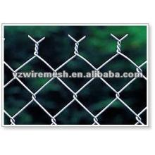 Galvanized chain link fence para la venta