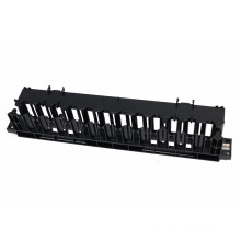2u 19 Inch Rack Mount Horizontal Cable Manager for Wiring