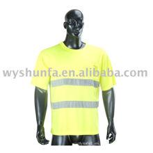 Camisetas y camisetas reflectantes de seguridad