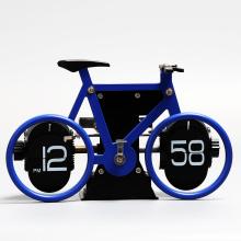 Bicicleta Flip Clock para decoración de mesa