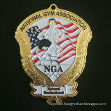 Custom Big Medal for American Gym Association Member′s Souvenir
