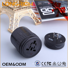 Fashionable Sample Birthday Gift Portable Multi-Nation Travel Adapter With Usb Charger