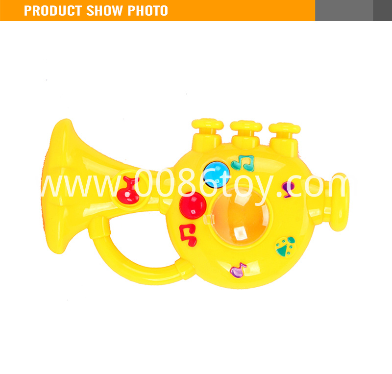 cheap toy plastic trumpet1