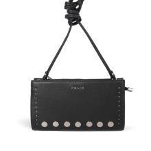 Half Flap Organizador de múltiples compartimentos Crossbody Handmade Bag