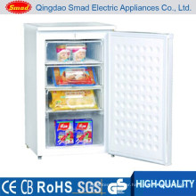 110L stainless steel upright drawer mini home deep freezer