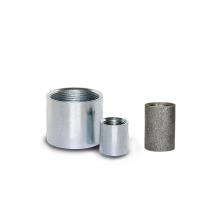 Acero al carbono corto / largo pezón con galvanizado eléctrico