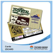 Prepaid Card / Scratch aus Karte