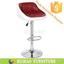 Ruibao 2016 Taburete de bar giratorio de lujo para la venta Taburete de cuero industrial Vintage