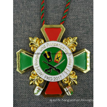 Hot Germany Big Medallion Die Casting Enamel Medal