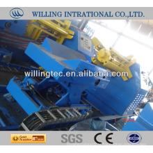 Desbobinador hidráulico de 8 toneladas com carro de bobina