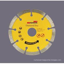Sintered Diamond Disc with Segmented Saw Blade