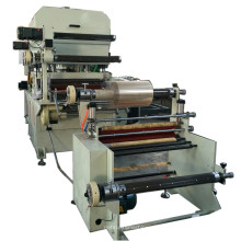 Label Die Cutting Machine with Rewinder
