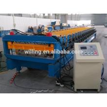 Machine à formage de rouleaux de métal à double couche, machine à formage de rouleaux, machine à formage de rouleaux d'acier avec deux modèles