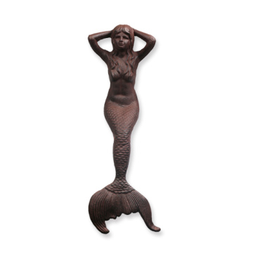 Cast iron garden ornaments Mermaid