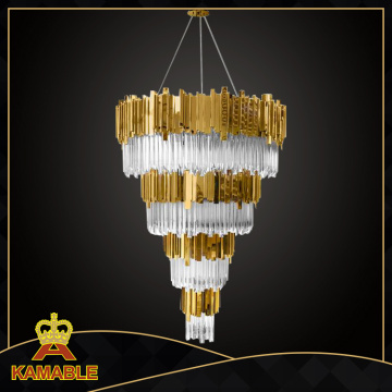 Hotel Proyecto Lámpara de cristal decorativo (KA1623-625)