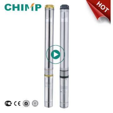 Chimpanzé 100qjd609-0.75 Bomba de Água Submersa Centrífuga de Poço Profundo 1 HP