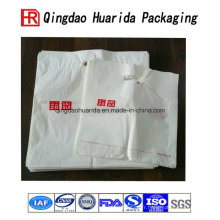Personnalisez le sac de transporteur en plastique stratifié