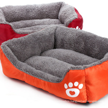 Plush Sofa-Style Couch Pet Dog Cat Bed