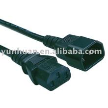 Alimentación de C13 a C14 cable cable Iec c13 c14 la impresora uso de PC