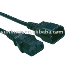 C13-to-C14 power cord cable Iec c13 c14 printer PC use