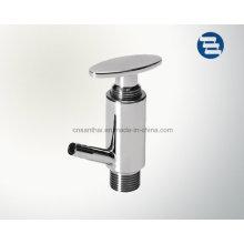 Boa qualidade Válvula de amostragem roscada sanitária Ss304